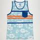 LOST Tropica Mens Pocket Tank