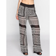 FULL TILT Bandana Print Womens Chiffon Wide Leg Pants
