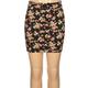 FULL TILT Floral Print Girls Bodycon Skirt