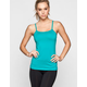 FULL TILT SPORT Sweat It Out Womens Y Back Tank