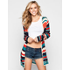 FULL TILT Womens Hooded Wrap Sweater