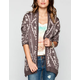 STACCATO Ethnic Pattern Womens Cardigan