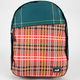 NEFF Daily Plaid Backpack