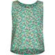 FULL TILT Floral Print Girls Pocket Tank
