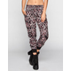 FULL TILT Ethnic Print Womens Banded Bottom Pants