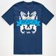 RVCA Crest Banner Mens T-Shirt