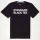 NIKE SB Standard Black Mens T-Shirt