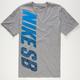 NIKE SB Vertical Pixel Fade Mens T-Shirt