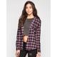 FOX Unkept Womens Hooded Flannel Shirt