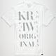KR3W Serif Mens T-Shirt