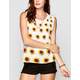 FULL TILT Sunflower Womens Muscle Tank