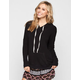 FULL TILT Womens Cozy Hi Low Pullover Hoodie