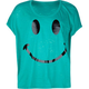 FULL TILT Smiley Face Girls Top