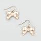 FULL TILT Epoxy Bow Earrings