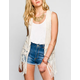 DOLLED UP Drop Stitch Fringe Womens Vest