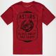 ALPINE STARS Blood Sweat and Gears Mens T-Shirt