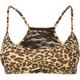 Leopard Lace Racerback Bra