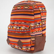 CARROT COMPANY Ethnic Print Backpack