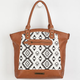 ROCK REBEL Ikat Tote Bag