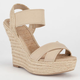 DELICIOUS Moody Womens Wedges