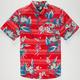 RIP CURL Last Call Boys Hawaiian Shirt