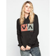 RVCA Hatch Box Womens Hoodie