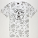 CAPTAIN FIN Floral Mens T-Shirt