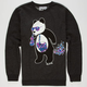 RIOT SOCIETY Cosmic Panda Bubbles Boys Sweatshirt