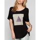RVCA Triangle Womens Oversized Tee