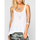 FULL TILT Essential Womens Sharkbite Tank
