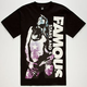 FAMOUS STARS & STRAPS Contrast Girl Mens T-Shirt