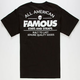 FAMOUS STARS & STRAPS AM Built Fast Mens T-Shirt