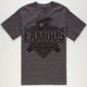 FAMOUS STARS & STRAPS Worthy Mens T-Shirt