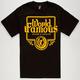 FAMOUS STARS & STRAPS Guzzlin Mens T-Shirt