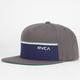 RVCA Lowbar Mens Snapback Hat