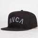 RVCA Blocks Mens Snapback Hat