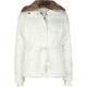 FULL TILT Fur Collar Girls Jacket