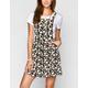ALI & KRIS Daisy Print Womens Overall Jumper Dress