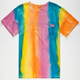 MOWGLI SURF Double Rainbow Mens Pocket Tee