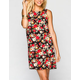 FULL TILT Floral Print Shift Dress