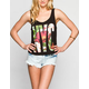 FULL TILT NYC Womens Bar Back Tank