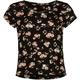 FULL TILT Floral Print Girls Fitted Crop Top
