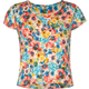 FULL TILT Floral Print Girls Fitted Crop Top