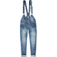 ALMOST FAMOUS Womens Denim Overalls