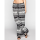 FULL TILT Ethinc Print Womens Wide Leg Pants