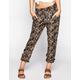 FULL TILT Ethnic Print Womens Soft Pants