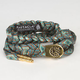RASTACLAT Aztec Shoelace Belt