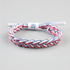 RASTACLAT Clips Braided Shoelace Bracelet