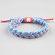RASTACLAT France Braided Shoelace Bracelet