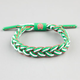 RASTACLAT Mexico Braided Shoelace Bracelet